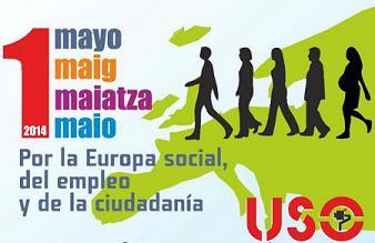 1º de mayo: acto central de la USO en Madrid