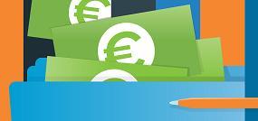 Los españoles cobran un 17% menos de sueldo que la media europea
