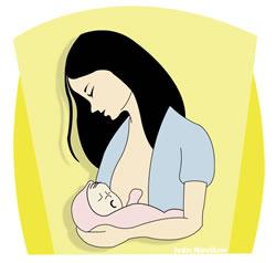 ¿Es ético llevarse al bebé al trabajo?