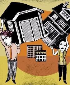 Los embargos de pisos se desbocan por el aumento del paro y de la morosidad