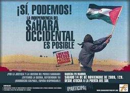 Justicia y libertad para el pueblo Saharaui
