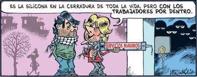 Piquete madrileño