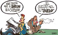 Sólo el 43% de los españoles considera que recibe un salario justo