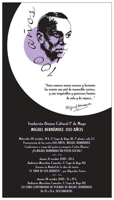Miguel Hernández: 100 años