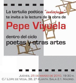 Tertulia de Autor con Pepe Viyuela