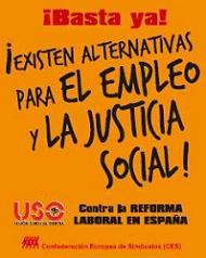 USO rechaza la Reforma Laboral aprobada por el Gobierno