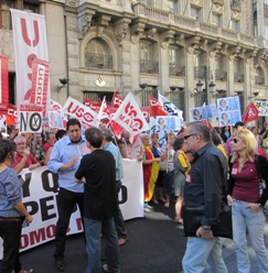 La Cumbre social concretará el día 10 más protestas contra los recortes