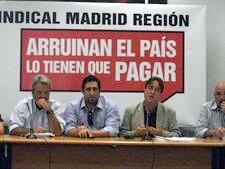 USO-Madrid considera fracasada la actual política económica.