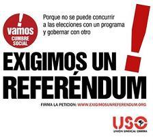 La Cumbre Social pone en marcha la campaña pro referéndum y una página web
