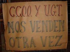 """CCOO y UGT cobraban """"sin trabajar"""""""