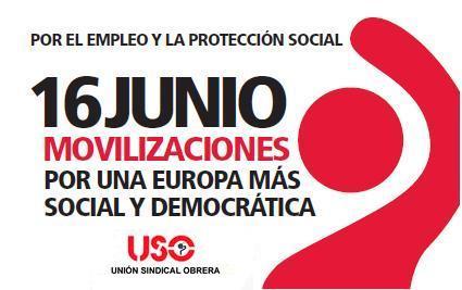 16-J: Por el empleo en una Europa más social y democrática