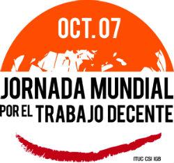 7-Oct: Jornada Mundial por el Trabajo Decente