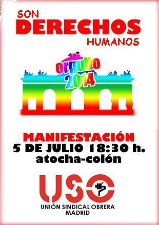 Manifestación Orgullo 2014